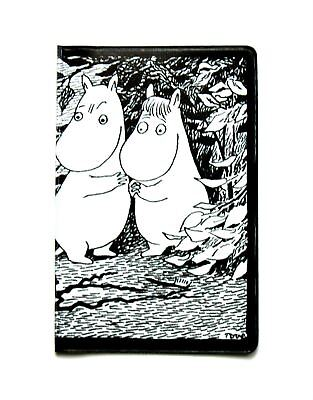 Handy - card/ticket/money holder- Moomintroll and Snorkmaiden