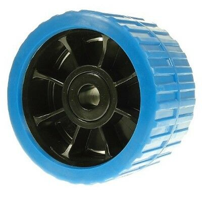 Ribbed Wobble Roller (non Mark) Blue 74x120x15 - x 74mm 120mm 15mm Bore One