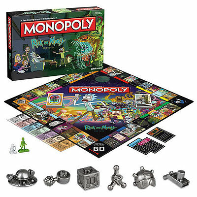 Boardgames - Monopoly - Rick And Morty