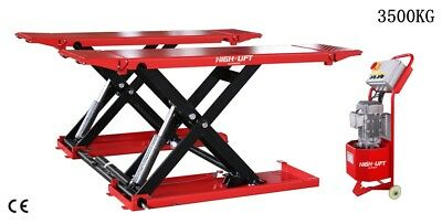 INQUIRY SHIPPING FREIGHT,Movable 3500kg Mid Rise Scissor car lift,tyre shop lift
