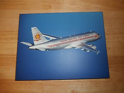 Trans-Canada Air Lines 1937-1997 60th Anniversary Flight Laminated Picture