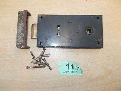 Antique Front Door Rim Lock Door Latch Locks Duel Handled With Keep 11A