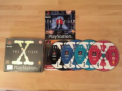 Playstation Game - X Files (RARE) PAL PS1