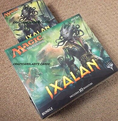 Magic Ixalan Bundle Fat Pack Prerelease Kit Free Same Day Priority Shipping