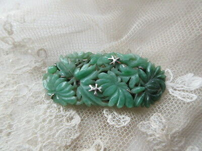 18h Chinese Nature  green jade   pendent   china   antique