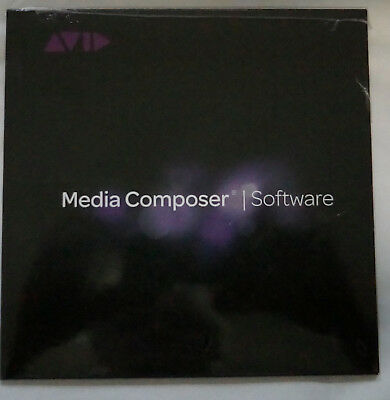 Avid Media Composer Software Version 8 DVD mit Key