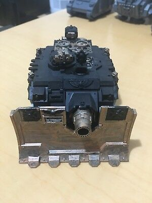 Warhammer 40k Space Marine Black Templar vindicator tank