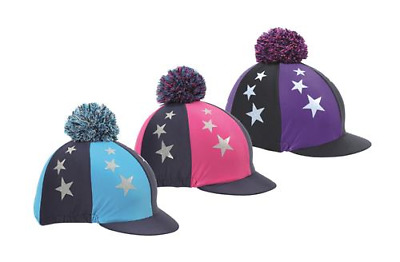 Shires Pom Pom Hat Cover With Stars