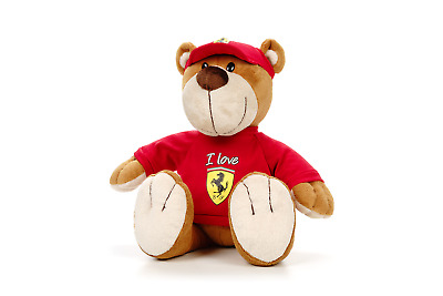 TEDDY Bear Kids Formula One 1 Love Ferrari F1 Team NEW Children TeddyBear Gift