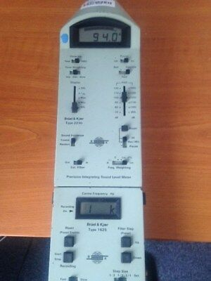 Bruel & Kjaer Sound level meter 2230 + 1625 filter & 4155 microphone.