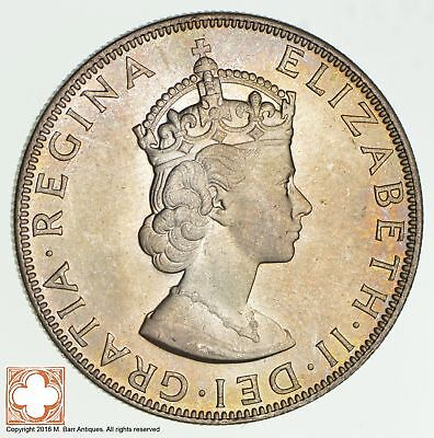 1964 Bermuda 1 Crown High Grade *9389