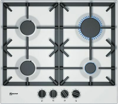 neff white gas hob with wok style burner brand new with rh picclick co uk Standing Gas Hob Teka Hob Gas
