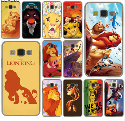 The Lion King Grumpy Cat Simba Hard Case Cover for Samsung Galaxy