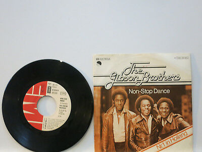 """The Gibson Brothers - Non-Stop Dance / Such a Funky Way 7"""" 1977 EMI D PicCvr NM"""