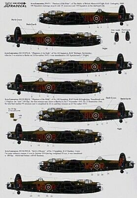 Xtradecal X48074 1/48 Lancaster Mk.I/III Ton-Up Avro Lancasters Model Decals