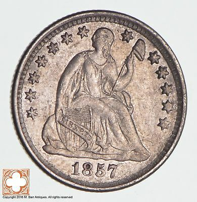 1857 Seated Liberty Silver Half Dime *1217