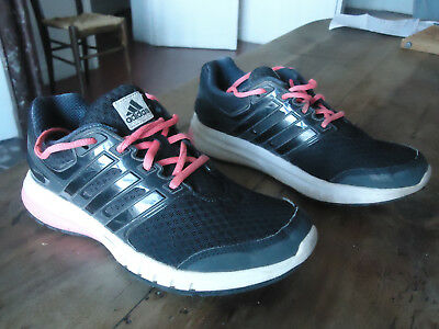 Baskets running noires ADIDAS  taille 37 1/3