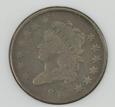 1814 Classic Head Large Cent *Z56