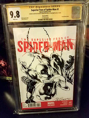 Superior foes of SPIDERMAN 1 CGC 9.8 Black Suit SPIDERMAN by Robertson FREE SHIP