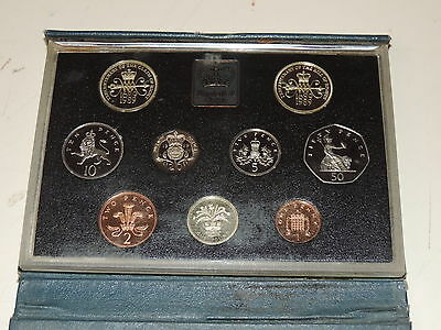 1989 Royal Mint Tercentenary of the Claim of Rights 9-Coin Proof Set - Rare