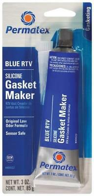 New Permatex 80022 Blue Rtv Silicone Gasket Maker Glue Blue Paste 1447713