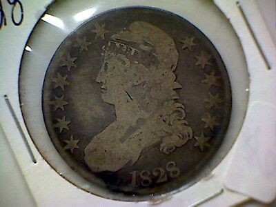1828 Capped Bust 50C  # 867