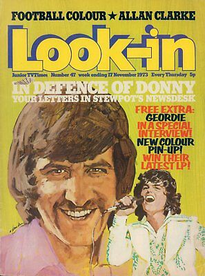 LOOK IN MAGAZINE. ISSUE 47. 17th November 1973. Geordie Double Spread.