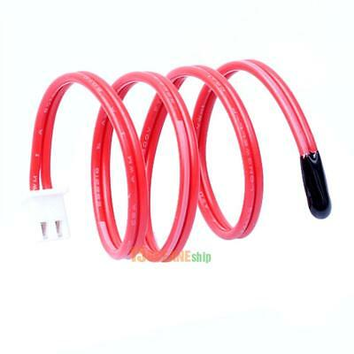 -25 to 125°C NTC 10K Ohm Thermistor Temperature Sensor Cylinder Probe Cable