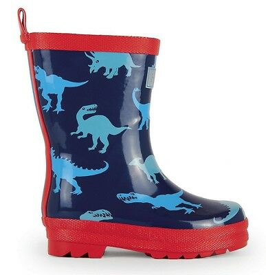 *NEW SEASON* Hatley Lots of Dinos Dinosaur Rainboots Wellies Wellington Boots