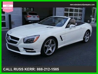 2014 Mercedes-Benz SL-Class SL 550 2014 SL 550 Used Turbo 4.7L V8 32V Automatic Rear Wheel Drive Convertible