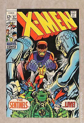 Uncanny X-Men (1963 1st Series) #57 VF- 7.5