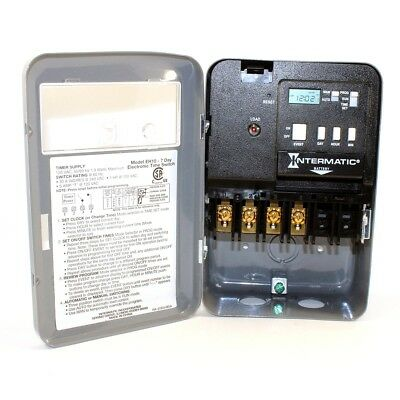 INTERMATIC EH10 Electronic Timer 24 hr/7 Days SPST