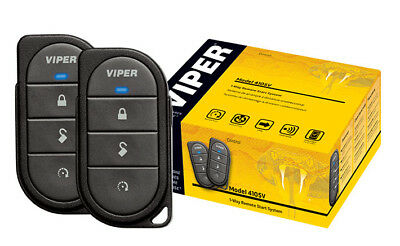 VIPER 4105 Car Remote Start and Key less Entry 1 Way Remote Viper 4103 starter