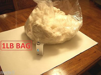 Wholesale 1 Pound Organic Cotton Atomizer Wick & Bags. Bulk Retail E cig Lb