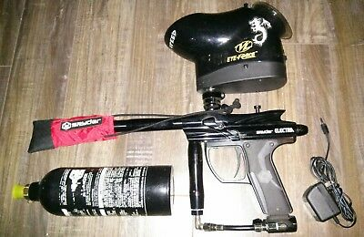 paintball spyder electra with loader and tank!