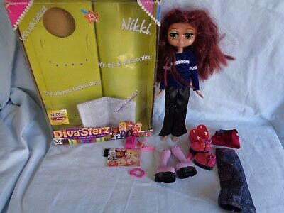 Diva Starz Nikki Talking Doll With Accessories 2002