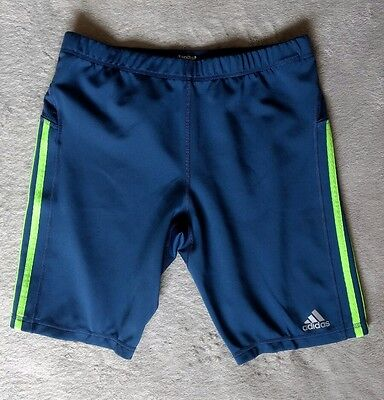 Adidas Response Shorts 3 Stripes Men's Running  Sports Workout Tight Climalite