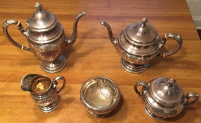 Towle Old Master Sterling Silver Coffee / Tea Set