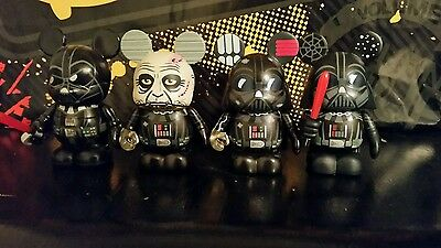 Disneys star wars darth vader vinylmation lot eachezs variant and commons le250