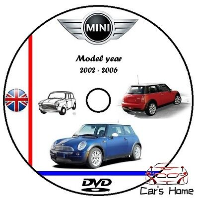 MANUALE OFFICINA MINI COOPER my 2002 - 2006 WORKSHOP MANUAL DVD