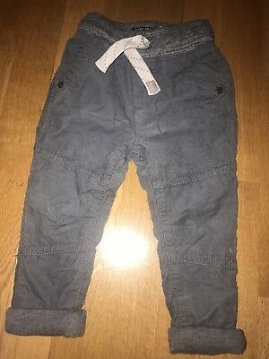 Next Baby Boy Grey Trousers 12-18 Months
