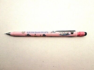 Vintage 1976 Sanrio Little Twin Stars Mechanical Pencil Pink