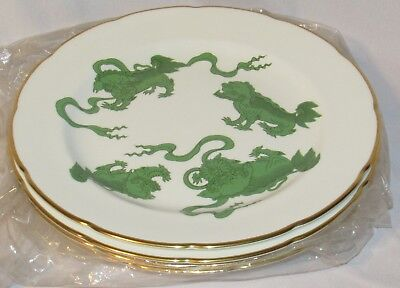 """Set of 4 Wedgwood Chinese Tiger Dinner Plate - 11"""" Lot 1"""