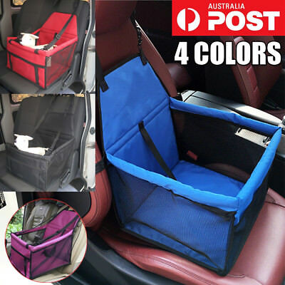 Pet Carrier Dog Cat Car Booster Seat Portable Soft Cage Travel Folding Bag Large