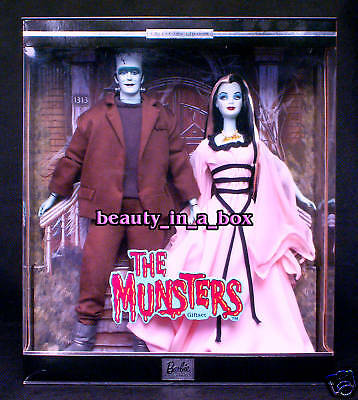 Munsters Barbie Doll Lily Herman TV Icon Ken Doll Together Giftset VG