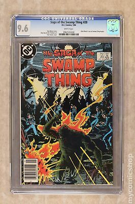 Swamp Thing (1982 2nd Series) #20 CGC 9.6 0962535008