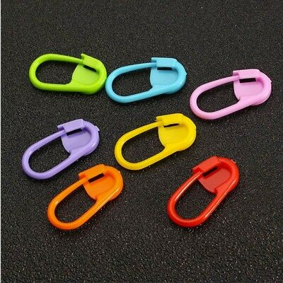 10pcs/ Set Plastic Buckle counter Hand knit Small buckle Pin weaving tools New