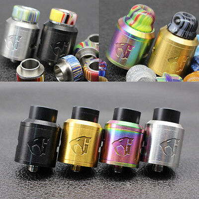 Goon V1.5 Style RDA 24mm 528 RDA HIGH Quality 1:1 Clone & Colored Resin