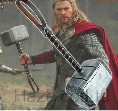 Marvel's Avengers 2 Thor's Hammer Props 1:1 Model Cosplay Great Present