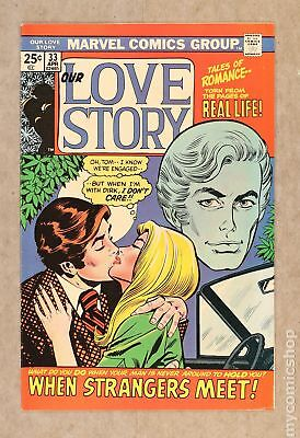 Our Love Story (1969) #33 FN 6.0